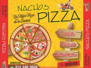 NACHOS PIZZA BARANDILLAS ZIPAQUIRA